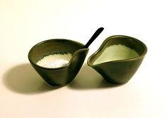 Saltbassins - handthrown porcelain. Also brilliantfor dressing, pesto... £18 each