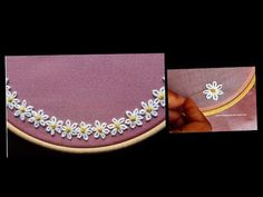 How To Do Easy Embroidery Stitches until Hand Embroidery Stitches Tutorial For Beginners. Easy Embroidery Stitches Step By Step from Easy Way To Remove Embroidery Stitches concerning Easy Embroidery Stitches By Hand Tutorial Machine Embroidery Thread, Hand Embroidery Flowers, Embroidery Stitches Tutorial, Learn Embroidery, Silk Ribbon Embroidery, Embroidery For Beginners, Hand Embroidery Designs, Embroidery Techniques, Embroidery Patterns