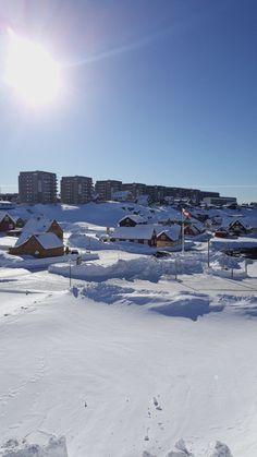 Nuuk Mount Everest, Mountains, City, Nature, Travel, Naturaleza, Trips, Traveling, Nature Illustration
