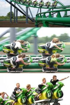 Cool rollercoaster! I want to try this!!! It's at a place called Tover  Land. But it's in Holland,Europe