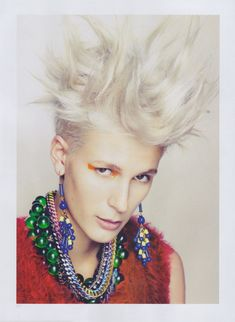 """This is what my hair looks like in the morning! Didn't know it was called """"style""""! Lol!"""
