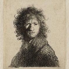 Rembrandt, zelfportret (B 10)
