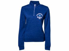 NCAA Womens Victory Springs Quarter Zip Pullover
