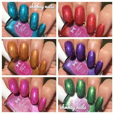 ehmkay nails: Cupcake Polish The Luau Collection
