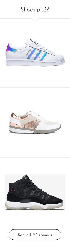 """""""Shoes pt.2👟"""" by trap-u-n-z-e-l ❤ liked on Polyvore featuring shoes, sneakers, adidas, tenis, iridescent shoes, adidas shoes, blue color shoes, adidas footwear, blue shoes and обувь"""