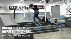 Brothers From Different Mothers: Franky Villani and Tre Williams | TransWorld SKATEboarding - http://DAILYSKATETUBE.COM/brothers-from-different-mothers-franky-villani-and-tre-williams-transworld-skateboarding/ - These bros know the meaning of Skate & Create! They set up some contraptions in the TWS Park we've never seen or even thought of. Video / HOLLAND Follow TWS for the latest: Daily videos, photos and more: http://skateboarding.transworld.net/ Like TransWorld SKATEbo