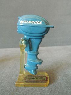 Antique Toy Evinrude Boat Motor Dealer Promo Giveaway Havens Marina Fremont Ohio | eBay