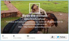 @BackpackingRyan Twitter Header Image, Around The Worlds