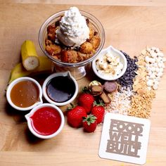 Burr…it's first day of winter! Keep warm with our bread pudding & 22 different STACKable toppings! #FoodWellBuilt