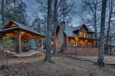 "Blue Sky Cabin Rentals ""Aquaholic"" on Lake Blue Ridge  Photography by NorthGeorgiaVirtualHomeTours.com"