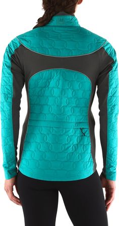 Designed for cool-weather riding—the women's Novara Colcha insulated bike jacket. #REIGifts