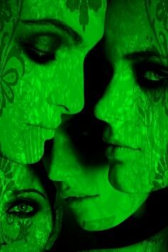 Ladies in Waiting World Of Color, Color Of Life, Green Theme, Green Colors, Go Green, Green Eyes, Green Goddess, Foto Art, Green Garden
