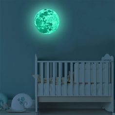 Glow in The Dark Moon Sticker Self-adhesive Wall Decal - The self-adhesive wall decals for kids is easy to stick or remove, The moon stickers are 100% waterproof and an awesome addition to your kids room, gym room. Decor for Kids Bedroom or Birthday Gift | FREE SHIPPING + 15% DISCOUNT Wall Stickers Glow In The Dark, 3d Mirror Wall Stickers, Cheap Wall Stickers, Wall Stickers Home Decor, Wall Decals, Kids Room Wall Art, Room Wall Decor, Les Themes, 3d Home