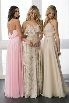 Bridesmaid Dress 22779 by Christina Wu Celebration - Search our photo gallery for pictures of wedding bridesmaids by Christina Wu Celebration. Find the perfect bridesmaid with recent Christina Wu Celebration photos. Floral Bridesmaid Dresses, Prom Dresses, Bridesmaids, Long Dresses, Christina Wu, Dresser, Chiffon Gown, Chiffon Dresses, Perfect Wedding Dress