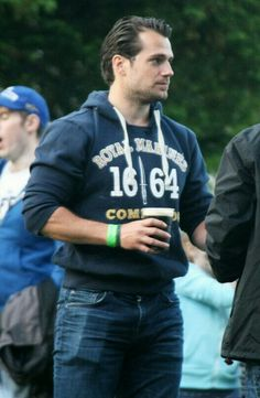Henry Cavill <3 Irland Beer
