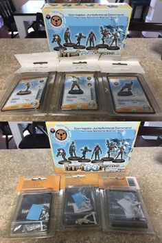 Other Miniatures and War Games 2537: Infinity Nomads Starter Box And More -> BUY IT NOW ONLY: $35 on eBay!