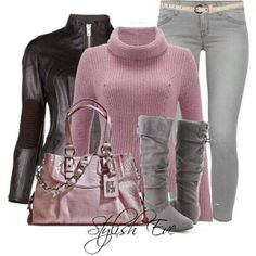 Style by eve Classy Outfits, Stylish Outfits, Beautiful Outfits, Cool Outfits, Fashion Outfits, Womens Fashion, Petite Fashion, Jean Outfits, Curvy Fashion