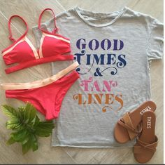 • Good Times & Tan Lines ☀️ N E W • Arrivals from {#LSpace} & {#JunkFood} >> #Tee {$42.00} • #Top {$88.00} • #Bottom {$75.00} • #Tkees {$90.00} >> Available in store & by phone order! All items are available in store & by phone order >> Please call {954.530.3109} to order!   #GoodTimes #TanLines #NewArrivals #SouthFlorida #Boutique #LSpace #Tkees #HaveToHave #Want #Need #Love