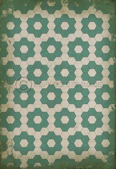 Pura Vida Home Decor - Pattern 2 Water Lillies vinyl floor cloth, $49.00 (http://stores.puravidahomedecor.com/pattern-2-water-lillies-vinyl-floor-cloth/)