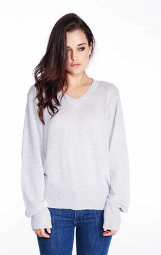 Wildfox Couture Essentials V-Neck Sweater