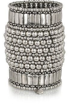 Philippe Audibert|Silver-plated cuff|NET-A-PORTER.COM - StyleSays