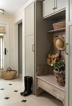 Lovely mudroom