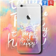 Ultra Thin Soft Silicone TPU Mountain Clear Case Cover For iPhone 6 6S Plus Case Fashion Transparent Soft Back Cover