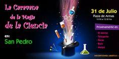 ¡La Caravana de la Magia de la Ciencia visita las comunas de la Región Metropolitana Sur! Con actividades y sorpresas para todo tipo de público... Más información en EXPLORA.CL http://www.explora.cl/noticias-nacionales/2059-par-region-metropolitana-sur-poniente-invita-a-la-caravana-de-la-magia-de-la-ciencia