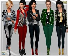 Dreaming 4 Sims: Car jacket • Sims 4 Downloads