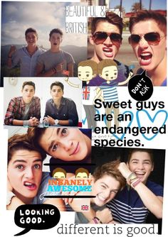 """Finn & jack harries 3"" by sofialvs ❤ liked on Polyvore"