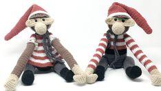 Hæklede jule-aber inspireret af Kay Bojesen - Kreafis
