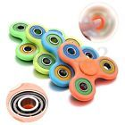 Lot 100X Painted Fidget Hand Spinner Triangle Anti Stress Toys Focus ADHD Autism