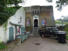 Arina's labels en kaarten.....: Fort Sabine en Fort de Hel