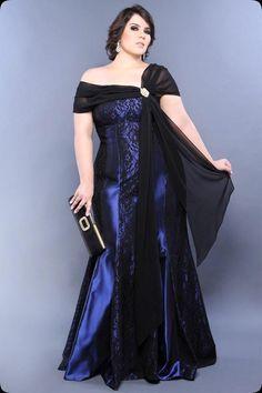 Women S Plus Size Knee Length Dresses Vestidos Plus Size, Plus Size Gowns, Evening Dresses Plus Size, Plus Size Outfits, Evening Gowns, Xl Mode, Mode Plus, Curvy Girl Fashion, Plus Size Fashion