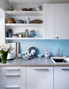 keuken, vind t blauw leuk
