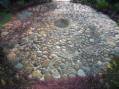 Jeffrey Bale's World of Gardens: Pebble Mosaic for the Garden