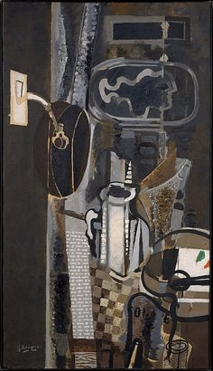 Georges Braque (French, Argenteuil 1882–1963 Paris) The Studio, III