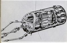 Cybernetic Zoo a history of cybernetic animals and early robots http://cyberneticzoo.com/   (shown:1960   SLOMAR Space Tug   The Martin Company (American))