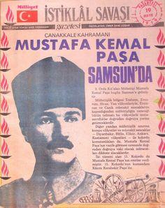 """Mustafa Kemal Paşa 19 Mayıs 1919′da Samsun'a geldi. Bir süre çalıştıktan sonra kentin postanesine gitti. Görevli bulunan PTT memuru o günü söyle anlatıyor: """"Hava yağmurlu ve elektrikliydi. O zamanlar paratoner sistemi olmadığı için telleri toprağa vermiştim. Saat gece yarısına yaklaştığı bir anda kapıdaki nöbetçi koşa koşa geldi, bir haber verdi. Mustafa Kemal Paşa geliyor. O sırada, Mustafa Kemal Paşa tek odadan ibaret telgrafhaneye girdi. Ayağa kalktım. — Buyurun Paşam. — Derhal Havza ve…"""