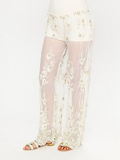 Free people (make yoga pant up to knee attach cute stocking