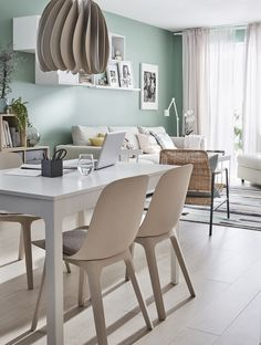 ▷ New Ikea 2020 catalog. The best furniture from Ikea. Ikea Design, Dining Room Table, Dining Chairs, Ikea Deco, Dining Room Paint Colors, Ikea Living Room, Living Room Inspiration, Apartment Design, Interior Design Living Room