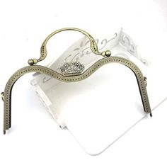 New-Crown-Metal-Frame-Kiss-Clasp-For-Handle-Bag-Purse-M-Shape-30CM-11-81inch