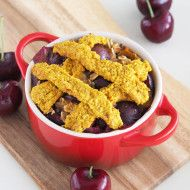 Cherry Pie Baked Oatmeal