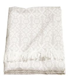 Jacquard-weave Cotton Throw | Product Detail | H&M