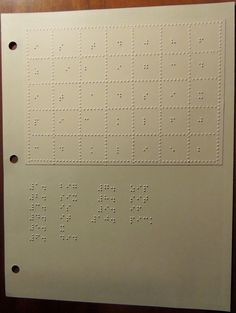 Braille word search puzzles are a great way to reinforce word recognition and practice braille reading skills!