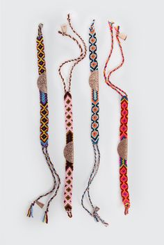 GOOD AS GOLD | Online Clothing Store | Mens & Womens Fashion | Streetwear | NZ — Lucy Folk Pizza Friendship Bracelet, multi / rose gold  http://www.goodasgold.co.nz/collections/lucy-folk