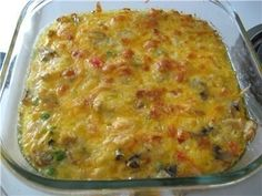 Rice casserole with chicken breast, mushrooms and vegetables / Global Fashion