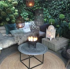 Vintage chic outdoor
