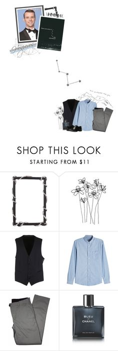 """""""hesperos"""" by forebodinq ❤ liked on Polyvore featuring Gucci, AMI, Lords of Harlech, Chanel, Massimo Matteo, men's fashion, menswear and bothav2B1"""