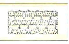 Ponteando: Tapete de crochê - ponto fantasia - com gráfico